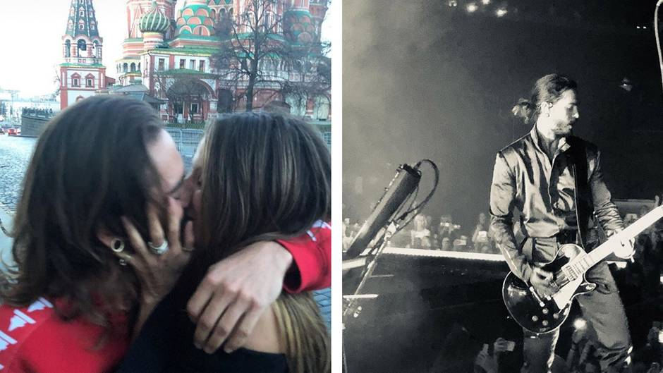 Klum postet erstes Kuss-Foto mit Tom