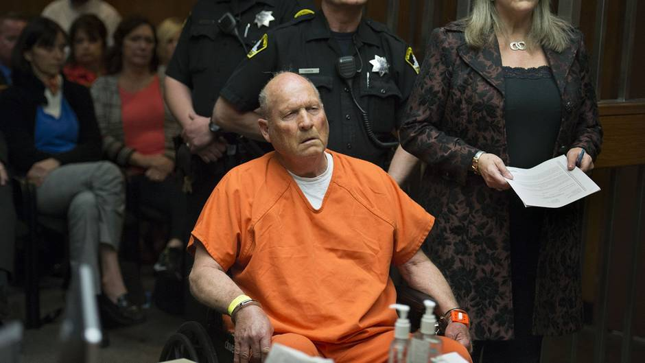 """Golden State Killer"" vor Gericht"