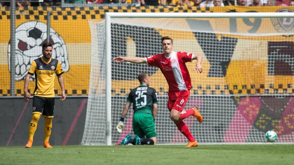 Fortuna Düsseldorf wird in der kommenden Saison in der ersten Fußball-Bundesliga spielen