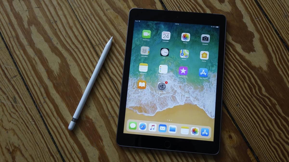 ipad 2018 im test apples jedermann tablet. Black Bedroom Furniture Sets. Home Design Ideas