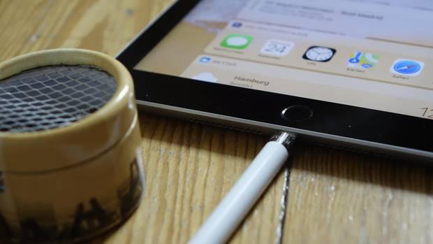 Der Apple Pencil ist nicht im Lieferumfang enthalten und kostet 99 Euro.