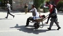Verletzter Anschlag Kabul
