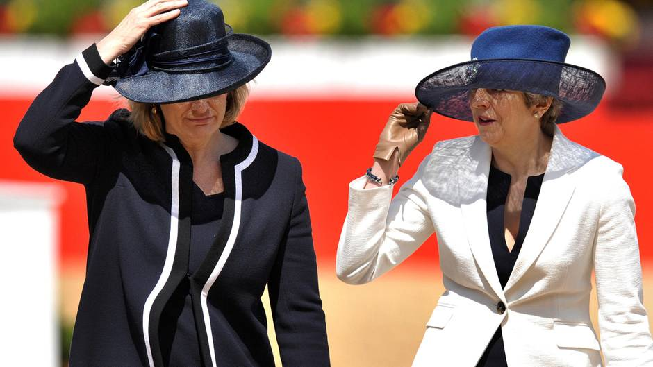 Amber Rudd und Theresa May
