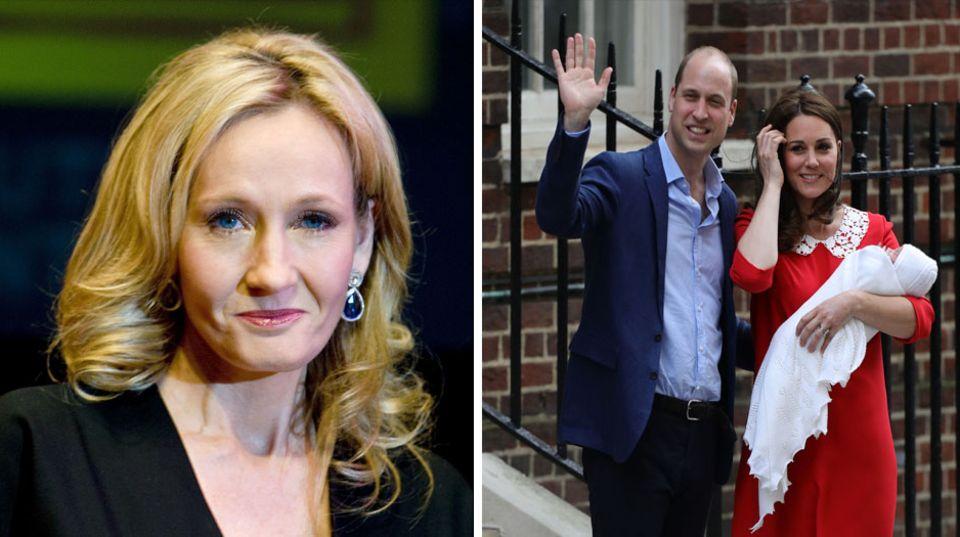 JK Rowling Prinz William Herzogin Kate