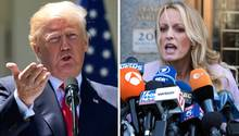 US-Präsident Donald Trump wurde vom Pornostar Stormy Daniels wegen Verleumdung verklagt