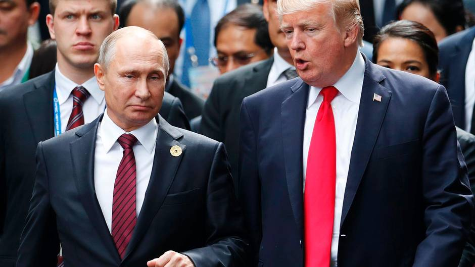 Robert Mueller Russland-Ermittler stellt Trump brisante Fragen