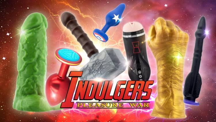"""The Indulgers"" sind neu im Sortiment bei Geeky Sex Toys"