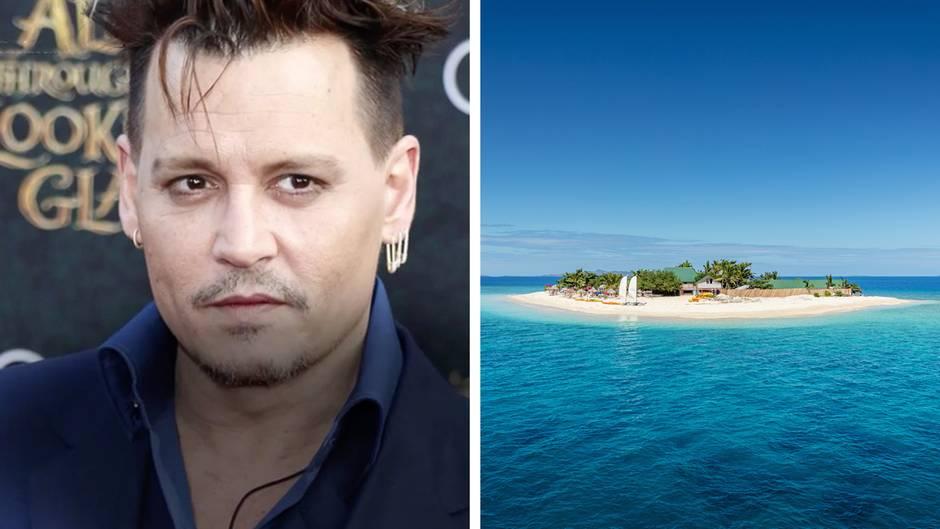 """Hollywood im Traumurlaub: Diese fünf Stars besitzen eine eigene Insel - die günstigste kostet """"nur"""" 3 Millionen US-Dollar"""