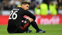 FC-Bayern-Torwart Sven Ulreich ist nach dem Ausscheiden in der Champions League am Boden zerstört