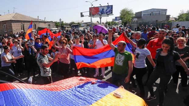 Proteste Armenien