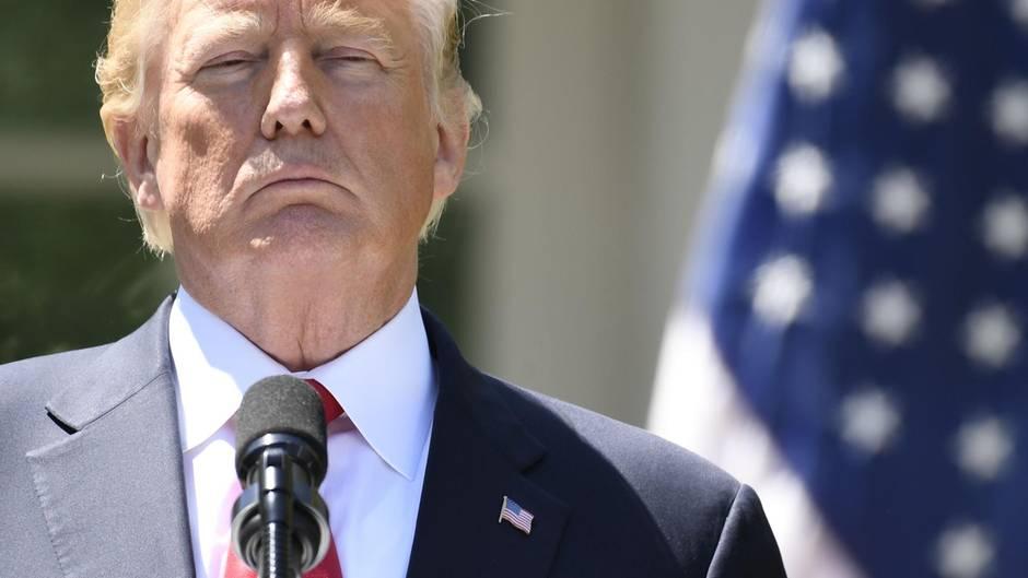 Trump diktierte sein Gesundheitszeugnis