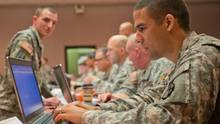 Blick in das Cyber Center of Excellence der US-Armee in Fort Gordon.