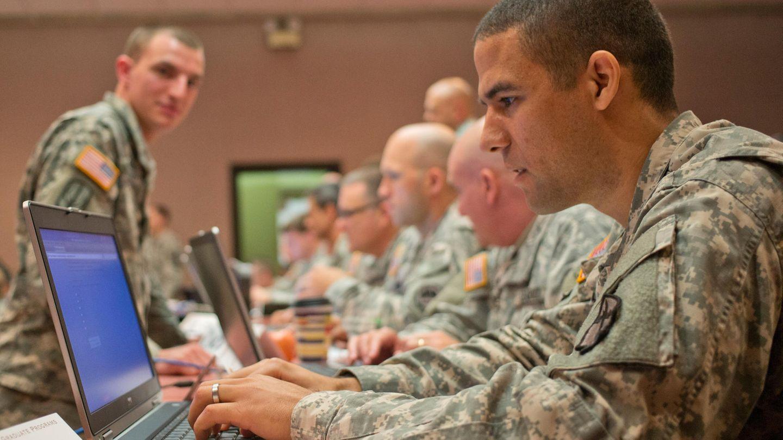 Blick in dasCyber Center of Excellence der US-Armee in Fort Gordon.