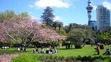 Platz 2: Auckland  Nicht nur bei der Bewertung von Städten mit der höchsten Lebensqualität schneidet Auckland stets gut ab, auch beim Verhältnis von Bewohnern zu Grünflächen: 357 Quadratmeter stehen jedem Bewohner zur Verfügung.