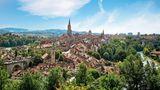 Platz 8. Bern  Auf einen Berner kommen schon 131 Quadratmeter Grünfläche, das beste Verhältnis für eine Stadt in der Schweiz. Allein 32 Prozent der Fläche in der Hauptstadt der Eidgenossen ist begrünt.