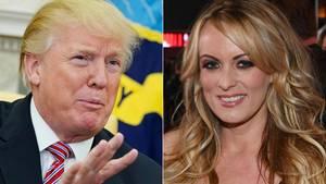 Donald Trump, Pornodarstellerin Stormy Daniels