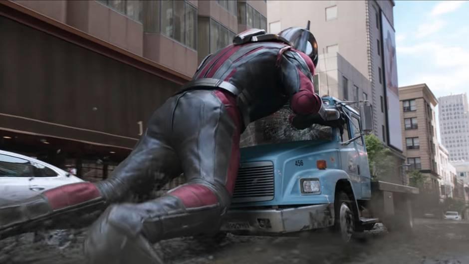 """Neuer Marvel-Blockbuster: Action, Humor und neue Freunde: So unterhaltsam wird """"Ant-Man and The Wasp"""""""