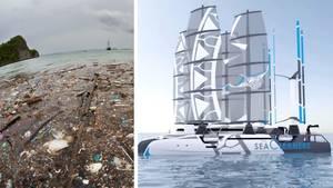 Boot soll Meer von Plastikmüll befreien
