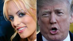 Stormy Daniels und Donald Trump: Schweigegeld ist unter Prominenten und Reichen ganz normal