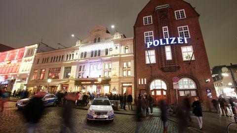 Die Davidwache in Hamburg