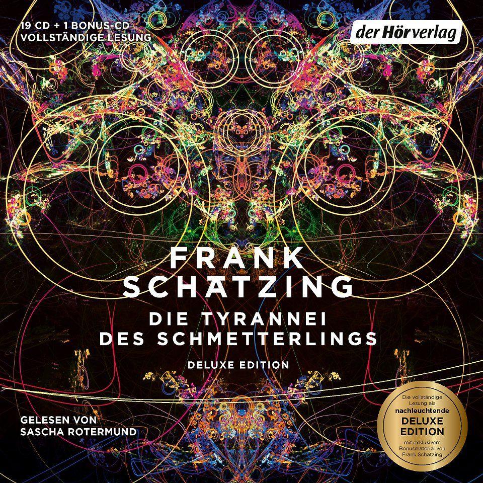 """Den Thriller """"Die Tyrannei des Schmetterlings"""" von Frank Schätzing gibt es in ungekürzter Lesung bei Audible zum Download."""