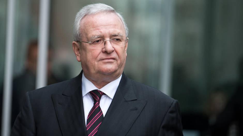 Ex-Volkswagen-Chef Martin Winterkorn