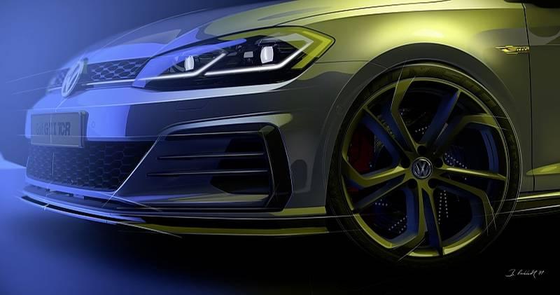 Das VW Golf GTI TCR Concept hat adaptive, elektrisch verstellbare Dämpfer