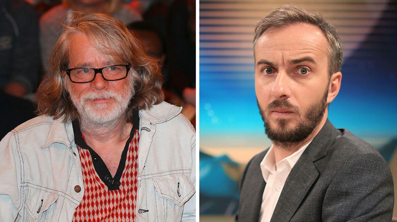 Laut einer Umfrage sind Helge Schneider und Jan Böhmermann die unbeliebtesten Komiker Deutschlands