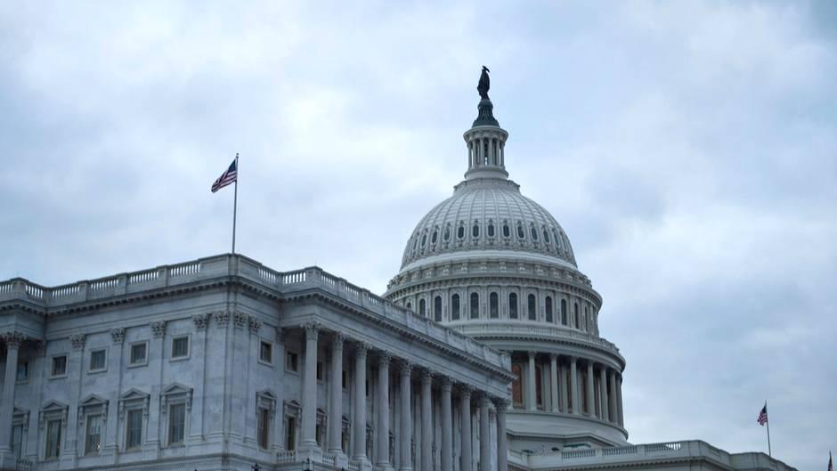 Das Kapitol in Washington: Hier sitzt auch der US-Senat, für den der Neo-Nazi Patrick Little kandidiert.
