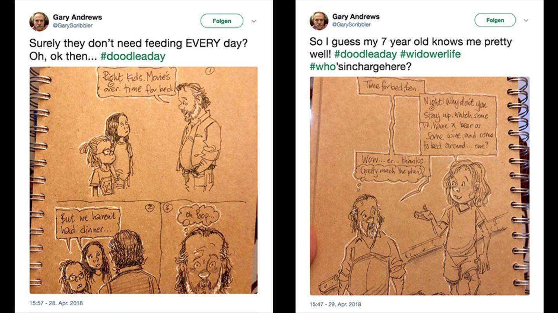 Twitter-Zeichnungen