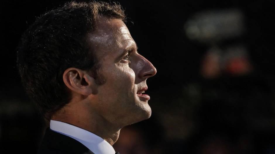 Der französische Präsident Emmanuel Macron.