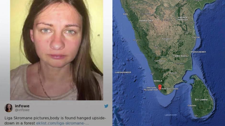Indien: Touristin vergewaltigt, geköpft und aufgehängt