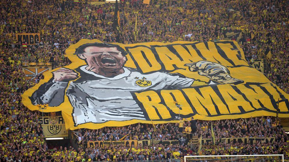 Die BVB-Fans verabschiedeten ihren langjährigen Torwart Roman Weidenfeller eindrucksvoll