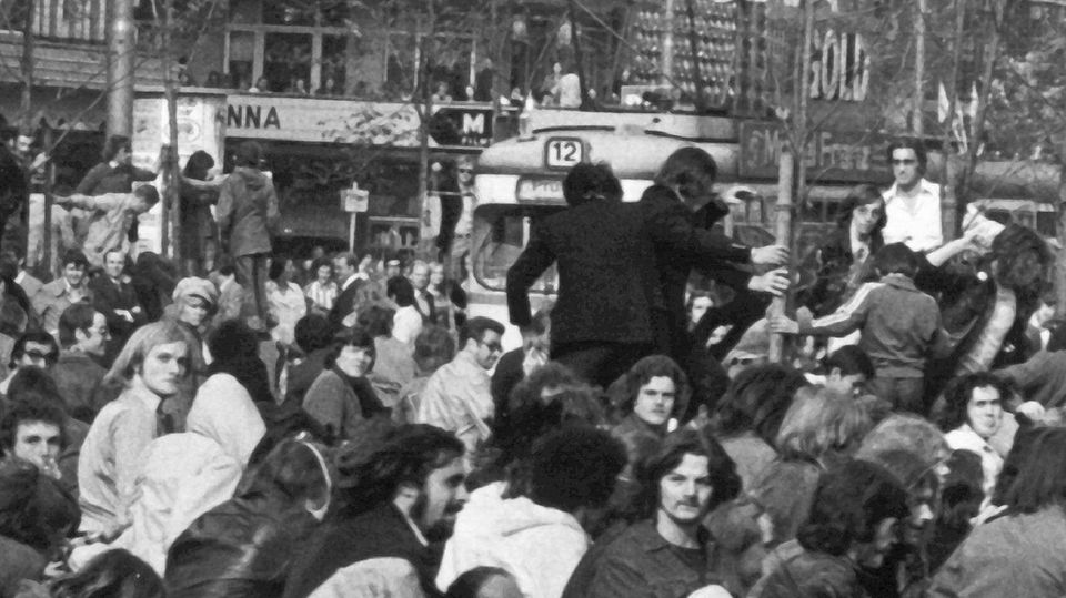 Joschka Fischer 1974