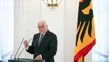 Bundespräsident Frank-Walter Steinmeier fordert Mut der Gesellschaft im Kampf gegen den Antisemitismus (Archivbild)
