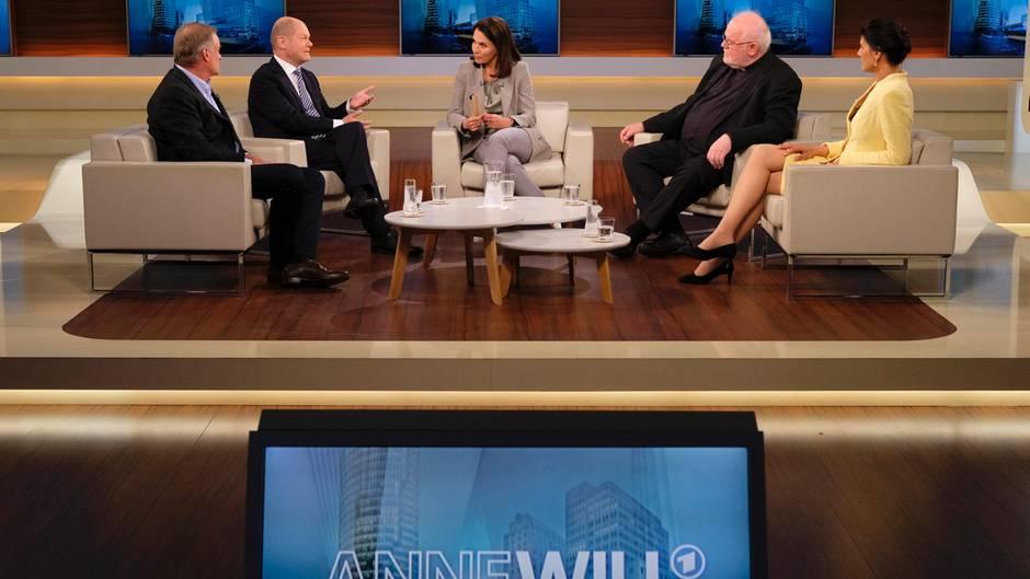 Anne Will und Gäste