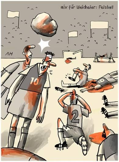 Fussball Cartoons Stern De