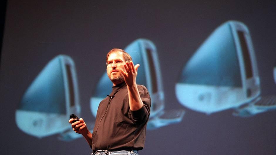 Steve Jobs Apple iMac G3