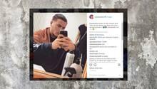 Instagram-Post von Leon Machère