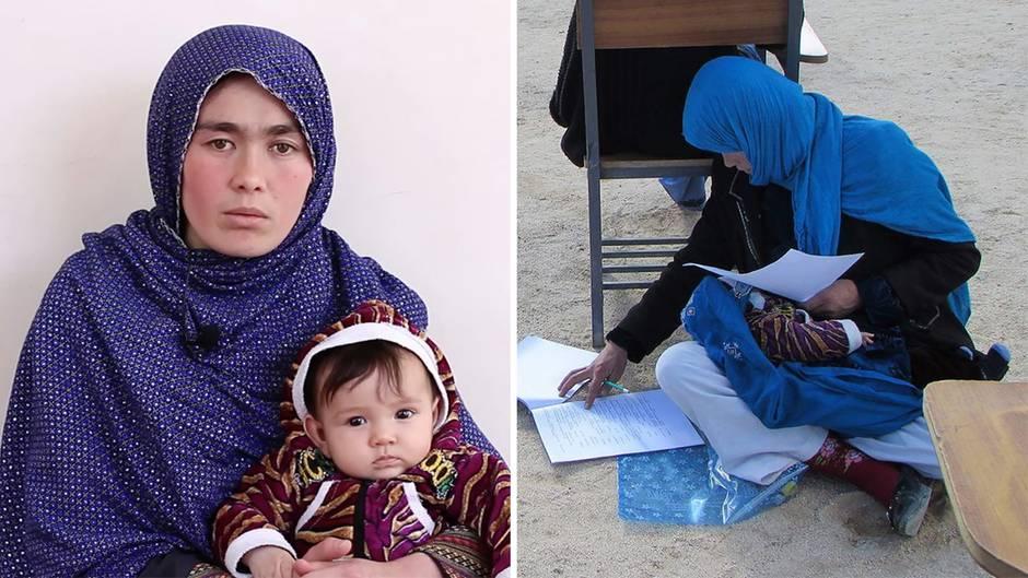 Interview mit Jahan Taabs : Das Foto dieser jungen Afghanin ging um die Welt - das ist ihre bewegende Geschichte