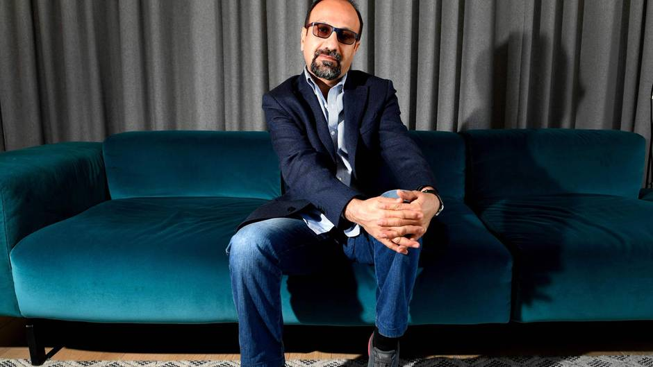 Filmfestspiele in Cannes beginnen: Der iranische Regisseur Asghar Farhadi in Paris.