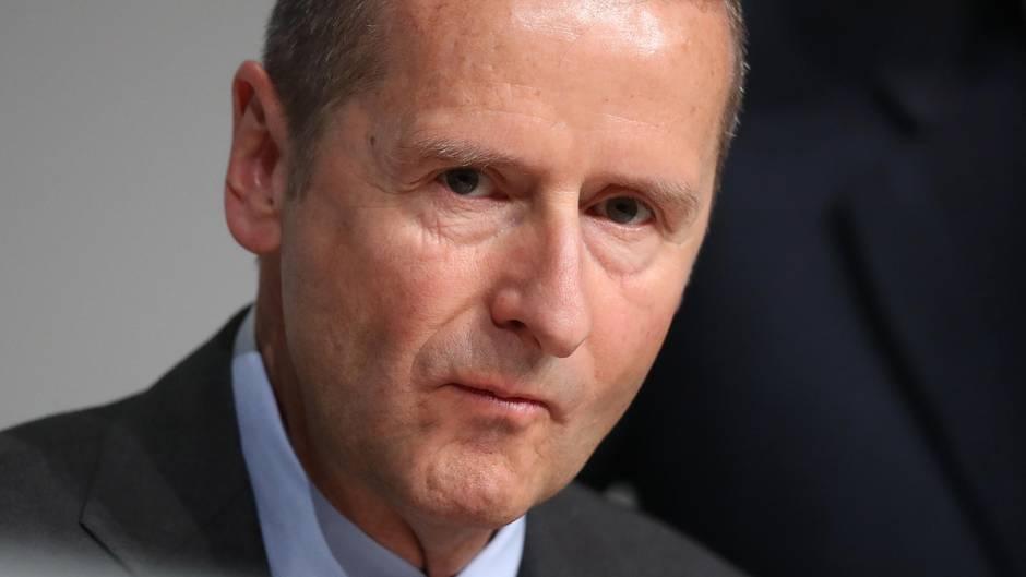 VW-Chef Herbert Diess genießt freies Geleit in den USA