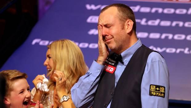 Mark Williams gerührt von Sieg bei Snooker-Weltmeisterschaft