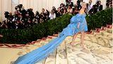 Schauspielerin Diane Kruger (in Prabal Gurung) sparte Stoff beim Kleid - dafür fiel die Schleppe umso üppiger aus