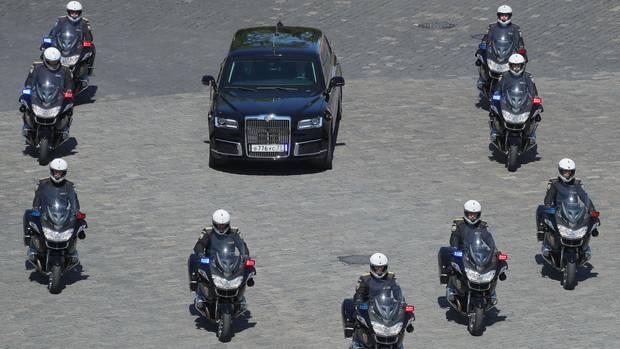 Wladimir Putin - Dienstwagen - Cortege - The Beast - 2
