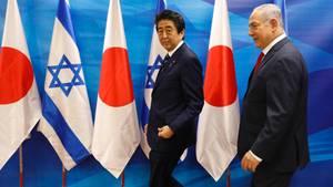 Shinzo Abe Benjamin Netanjahu