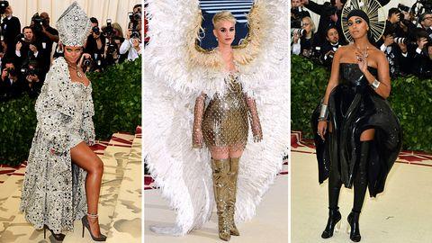 Modehighlight in New York: Met Gala: Großer Gott, was für Kostüme!