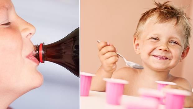 Kinder lieben Limo und süße Fruchtjoghurts – und nehmen damit eine Fülle von Zucker zu sich.