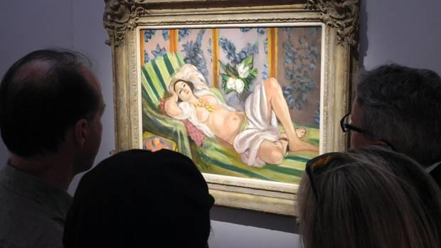 """Matisse-Gemälde """"Odalisque couchee aux magnolias"""""""