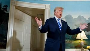 Donald Trump verkündet Ausstieg der USA aus Atomdeal